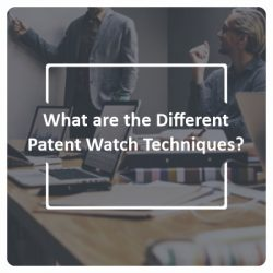 What are the Different Patent Watch Techniques